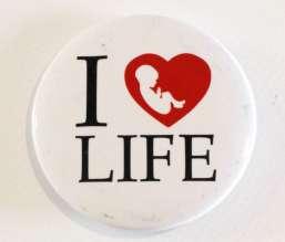 Przypinka I Love Life