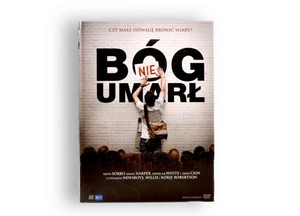 Bóg nie Umarł - książka + film DVD